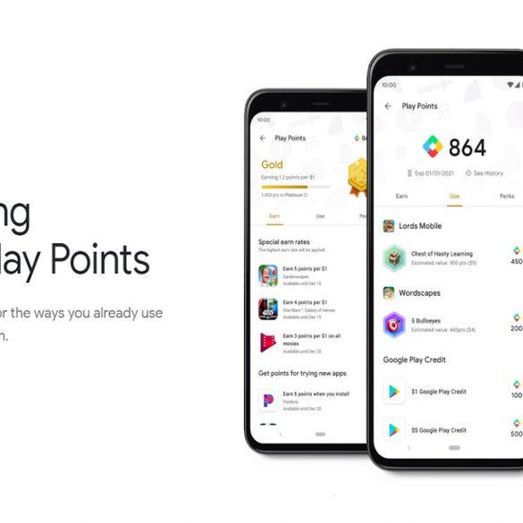 come funzionano i google play points