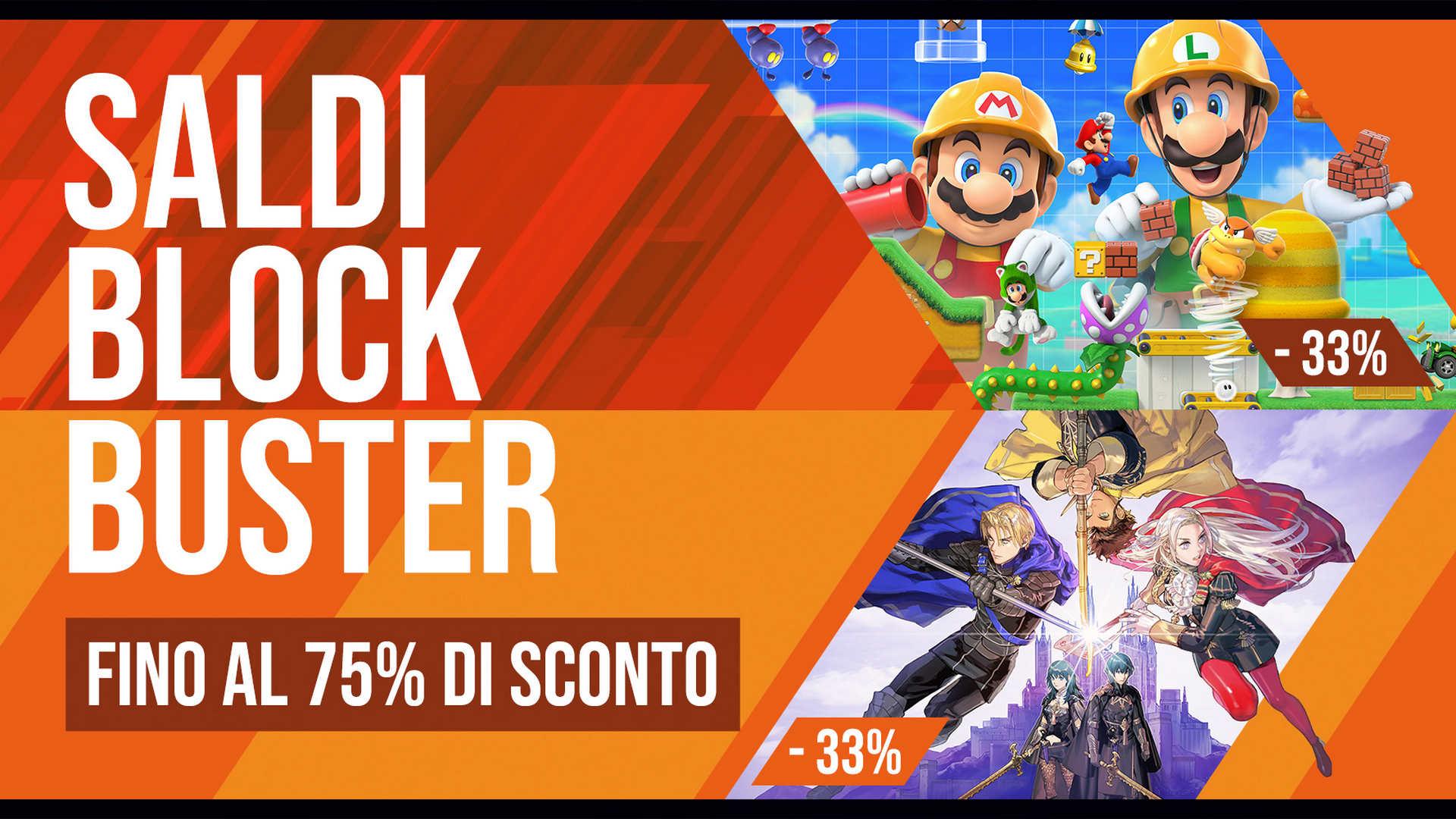 Saldi Blockbuster Nintendo Switch