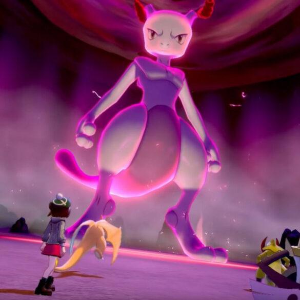 pokémon spada scudo mewtwo