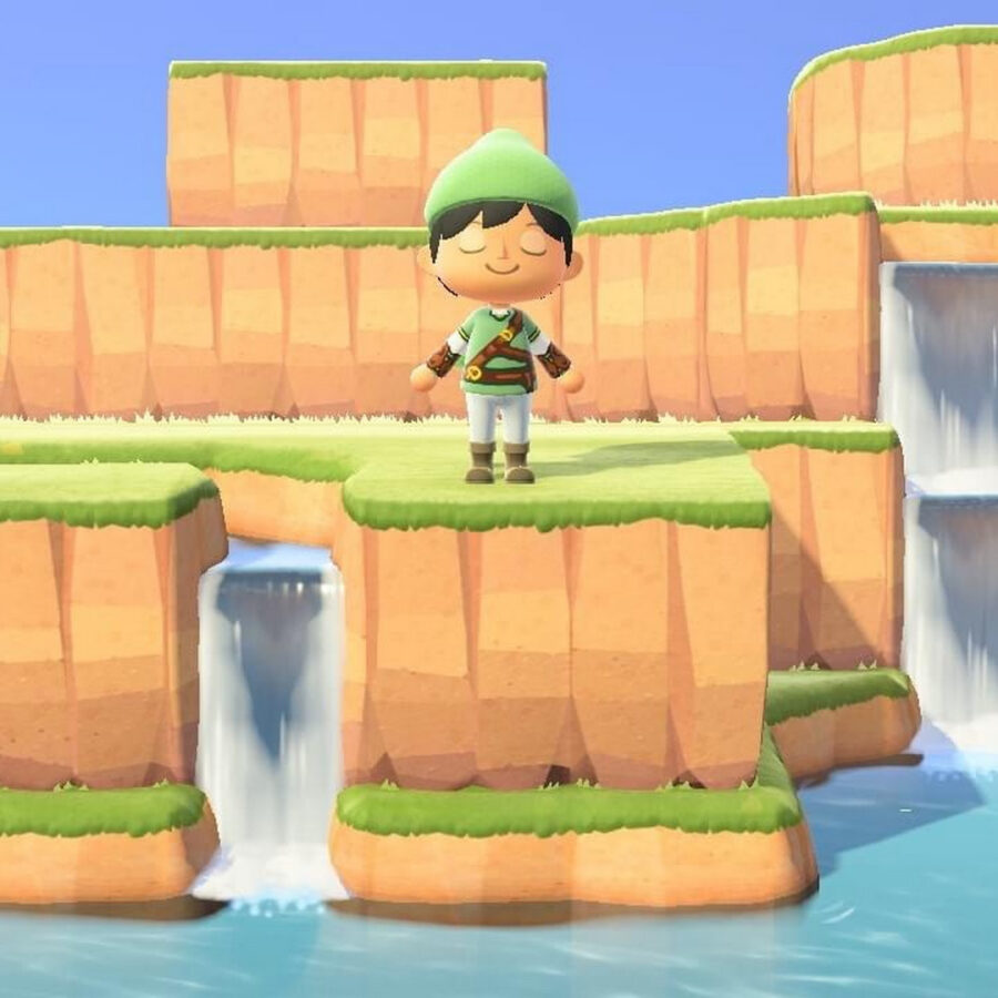 Animal Crossing: New Horizons x Zelda