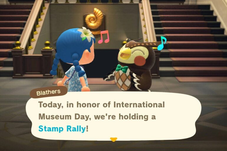 animal crossing new horizons evento musei