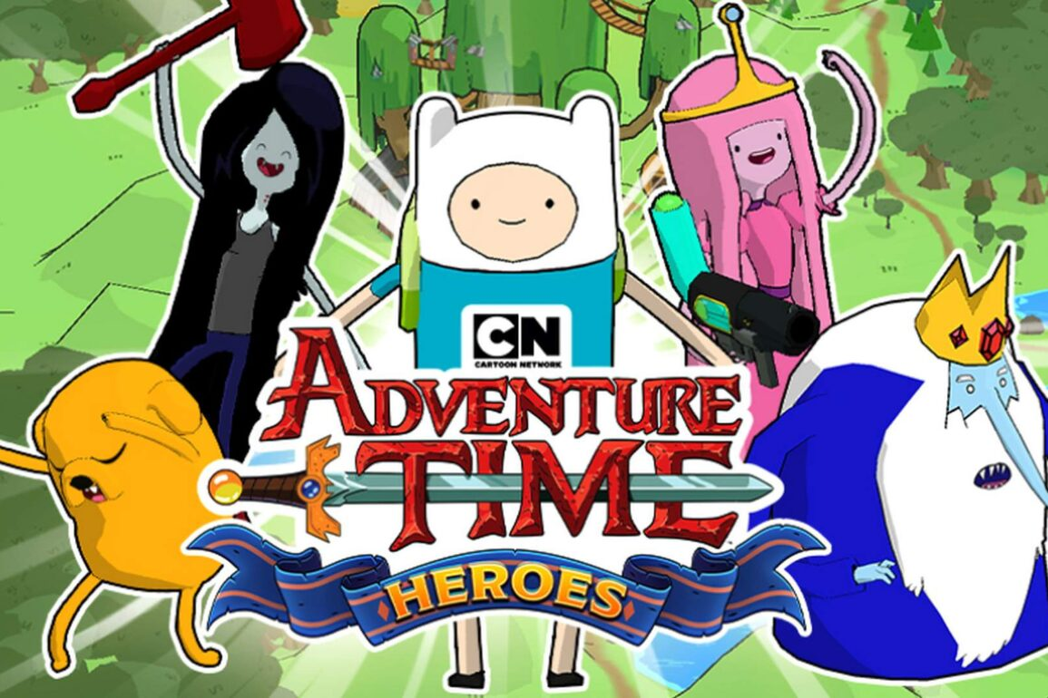 adventure time heroes android ios download
