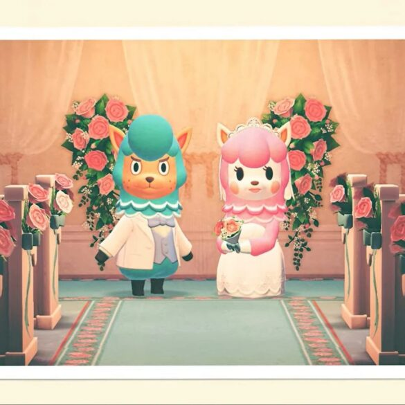 animal crossing new horizons wedding season evento
