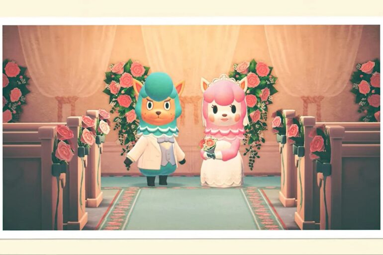 animal crossing new horizons wedding season evento