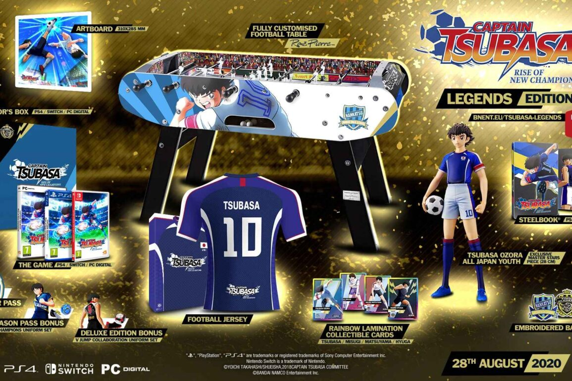 captain tsubasa rise of new champions legend edition nintendo switch