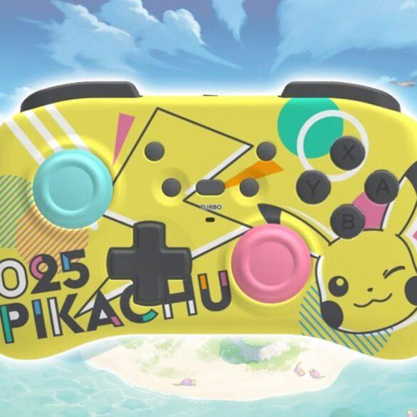 controller pokémon nintendo switch hori