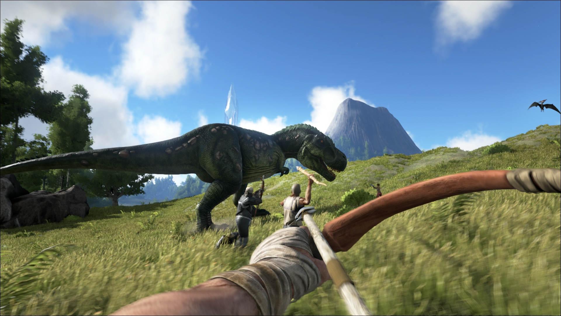 Giochi PC gratis Epic Games Store: ARK Survival Evolved è ...