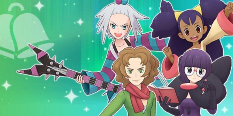 pokémon masters evento unima artemisio leavanny android ios 2