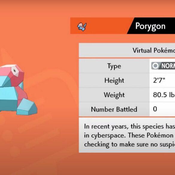 pokemon spada e scudo come ottenere evolvere porygon dlc isola solitaria dell armatura