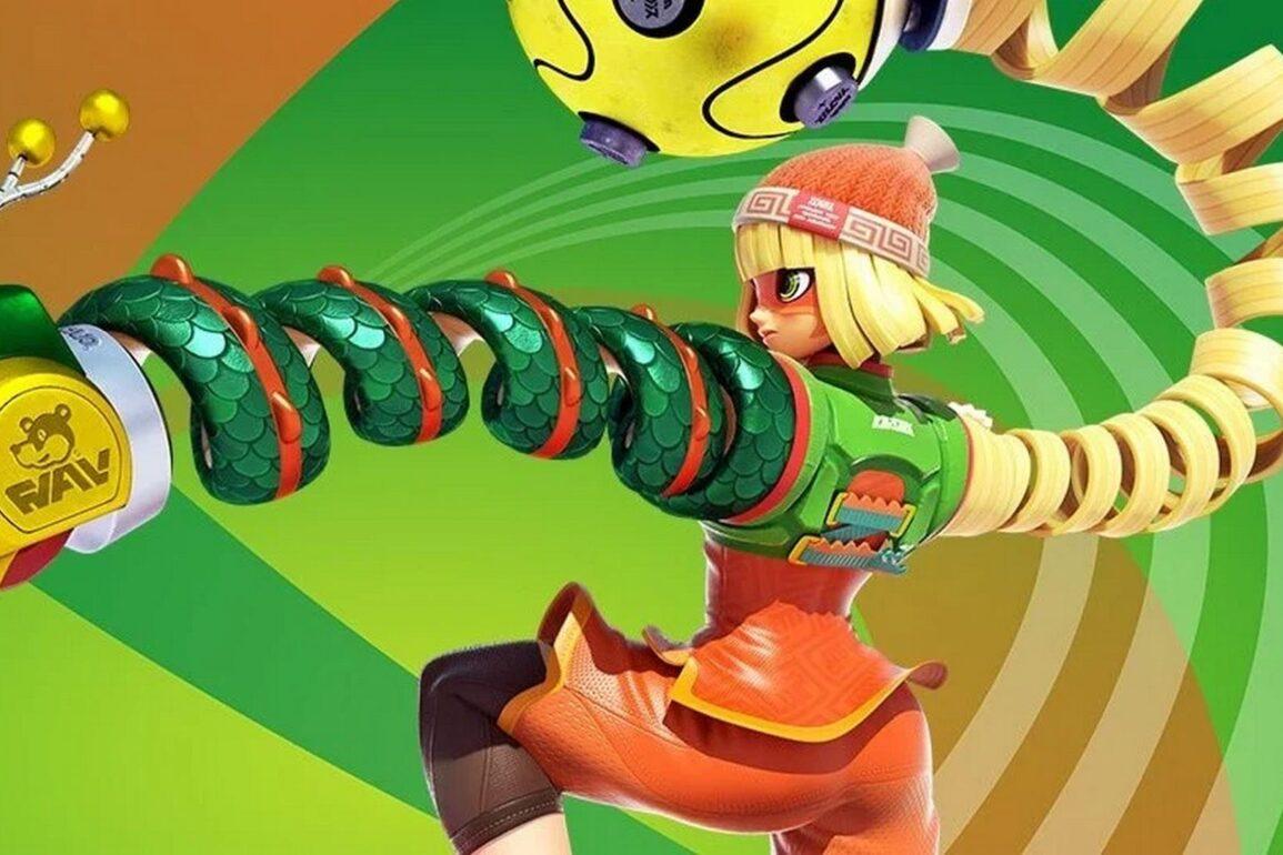 super smash bros ultimate nuovo personaggio arms