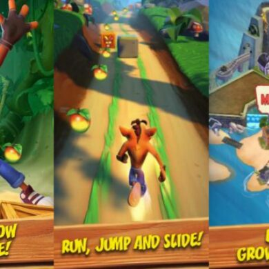 crash bandicoot on the run android ios
