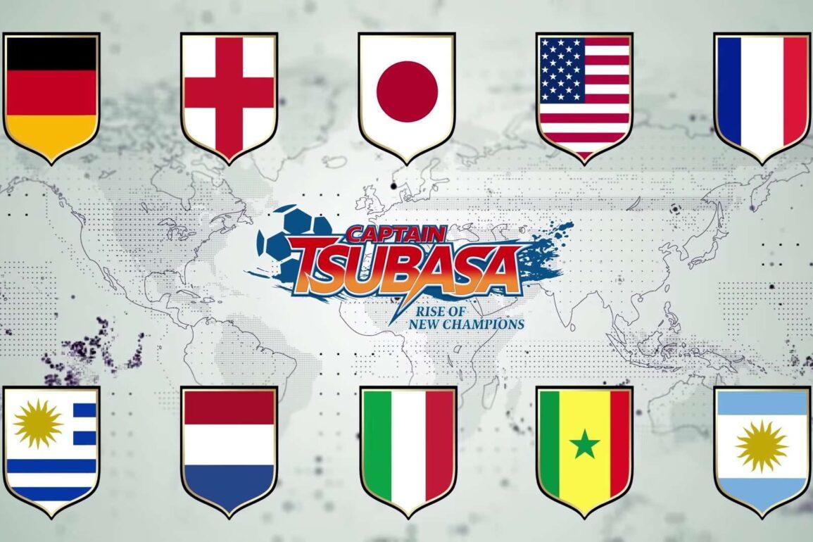 captain tsubasa rise of new champions modalità online nintendo switch