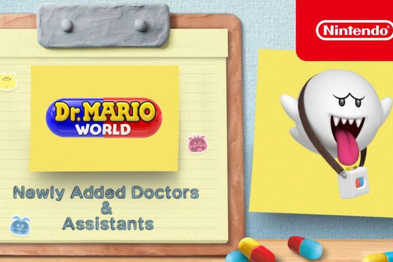 dr. mario world dr. boo