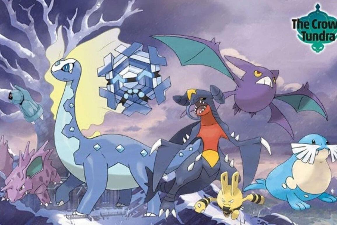 pokemon spada scudo terre innevate della corona leak