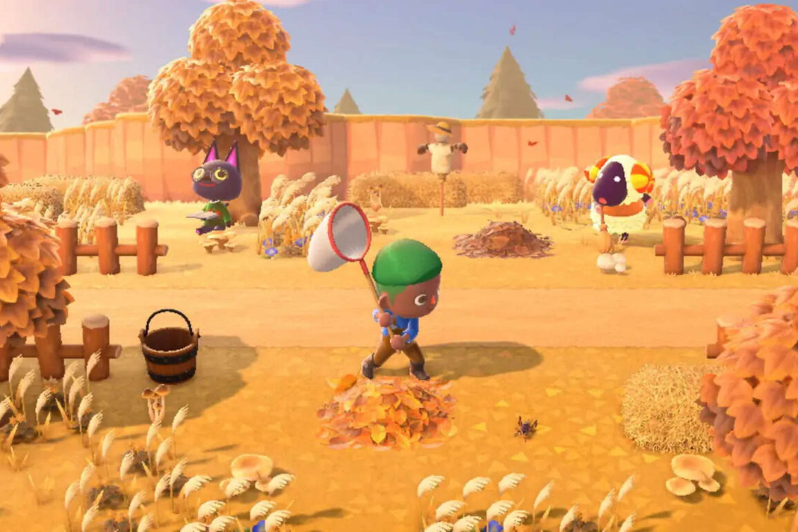 animal crossing new horizons autunno