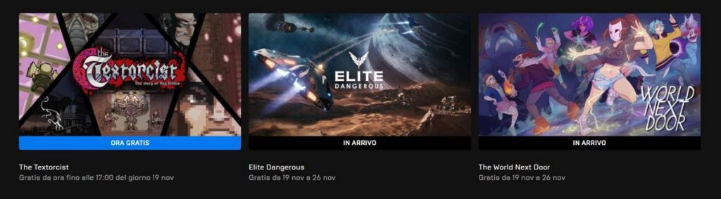 epic games store giochi pc gratis