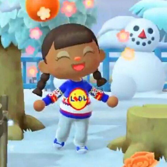 Come avere il maglione ufficiale di Lidl in Animal Crossing: New Horizons
